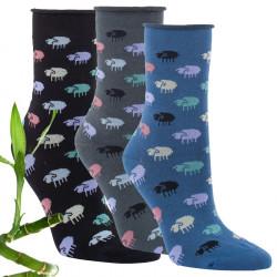 Bambusové ponožky a podkolenky  ed66892192