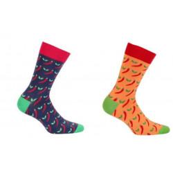 Pánske ponožky Papričky 7c55d0a684