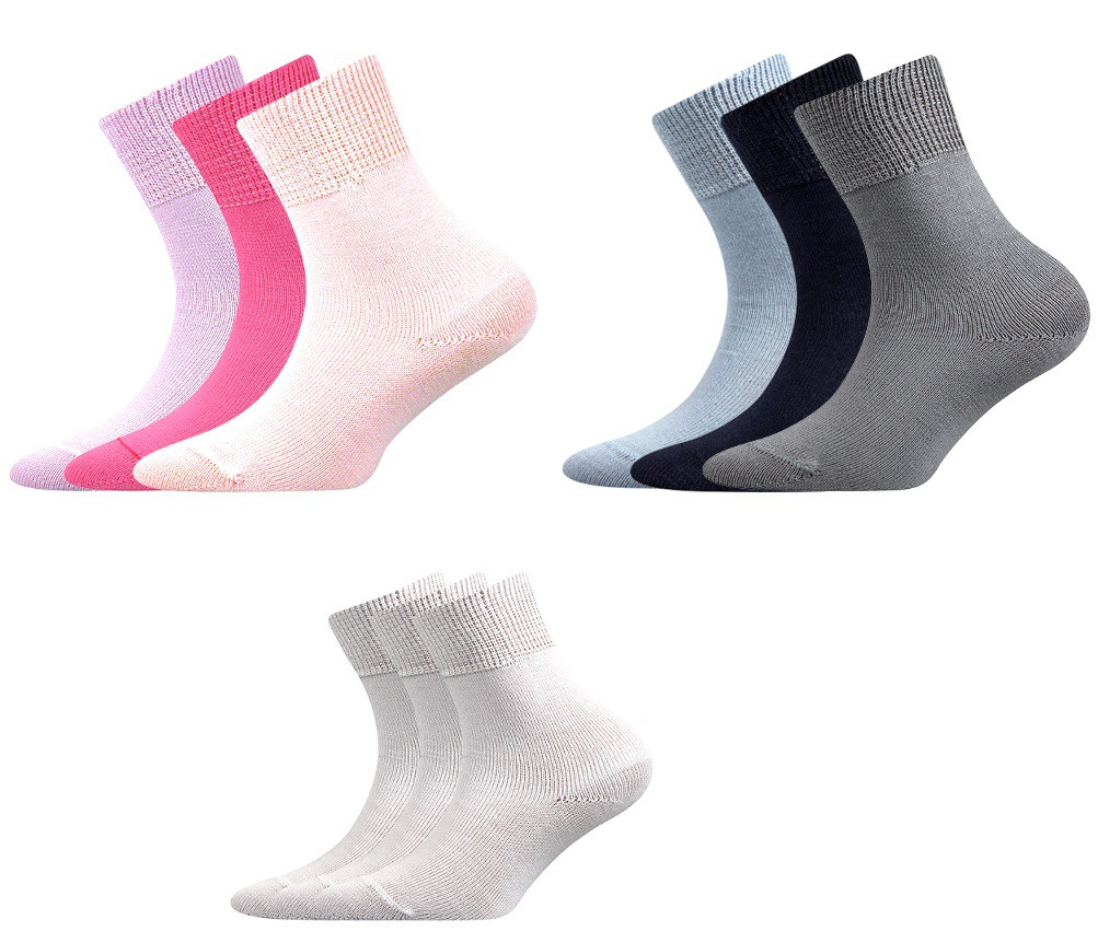 Dětské 100% bavlněné ponožky Romsek 38bc9c792e